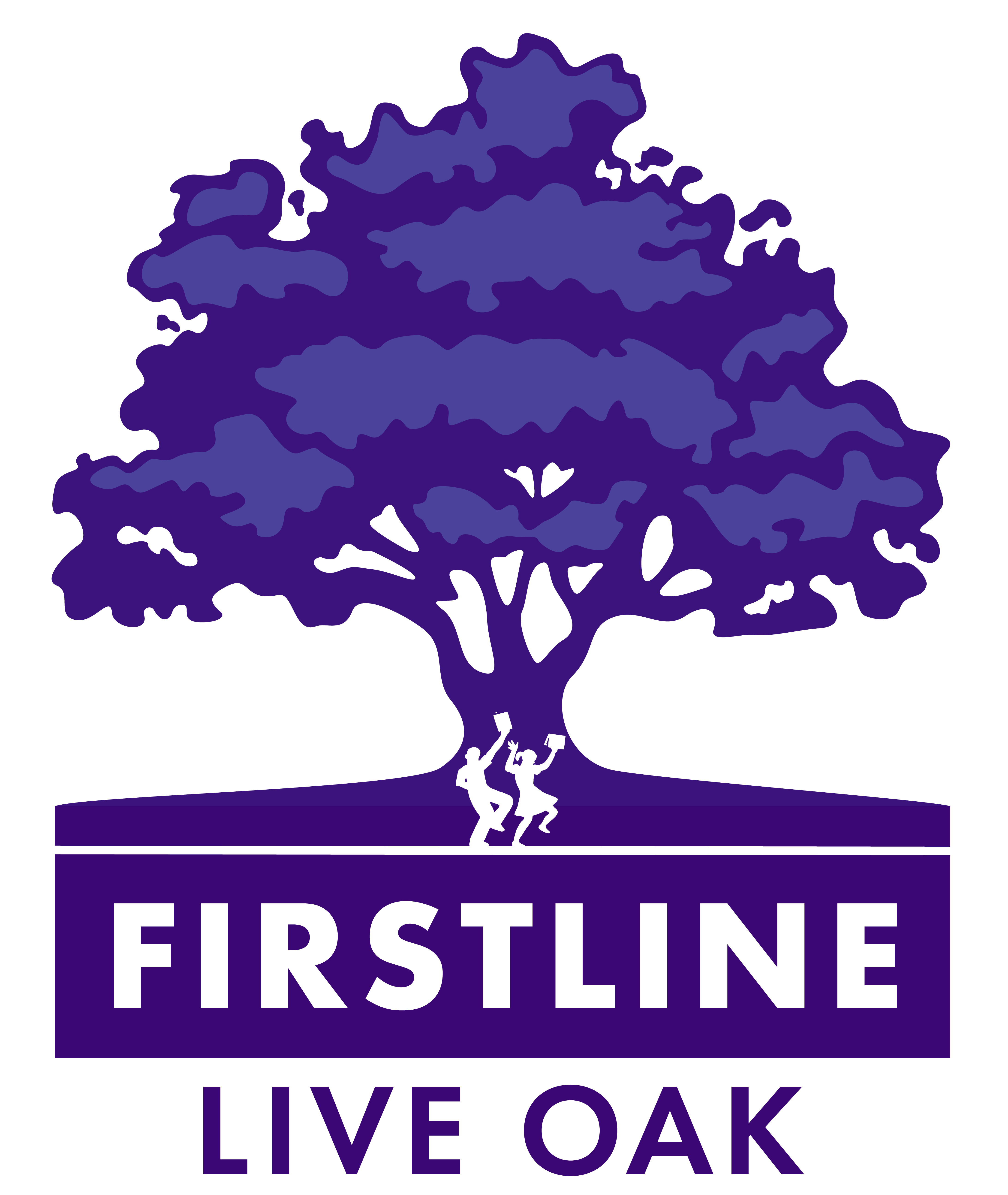 FirstLine Live Oak LOGO_Navy