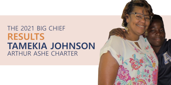 2021 Big Chief of Results: Tamekia Johnson