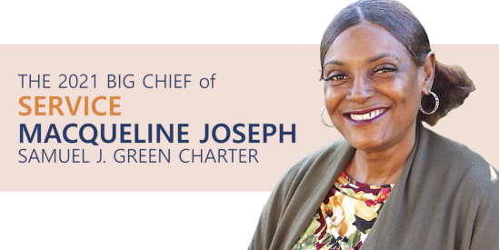2021 Big Chief of Service: Maqueline Joseph