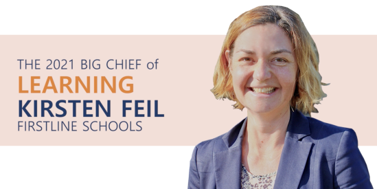 2021 Big Chief of Learning: Kirsten Feil
